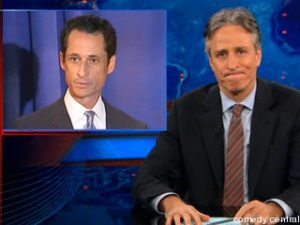 rep weiner daily show